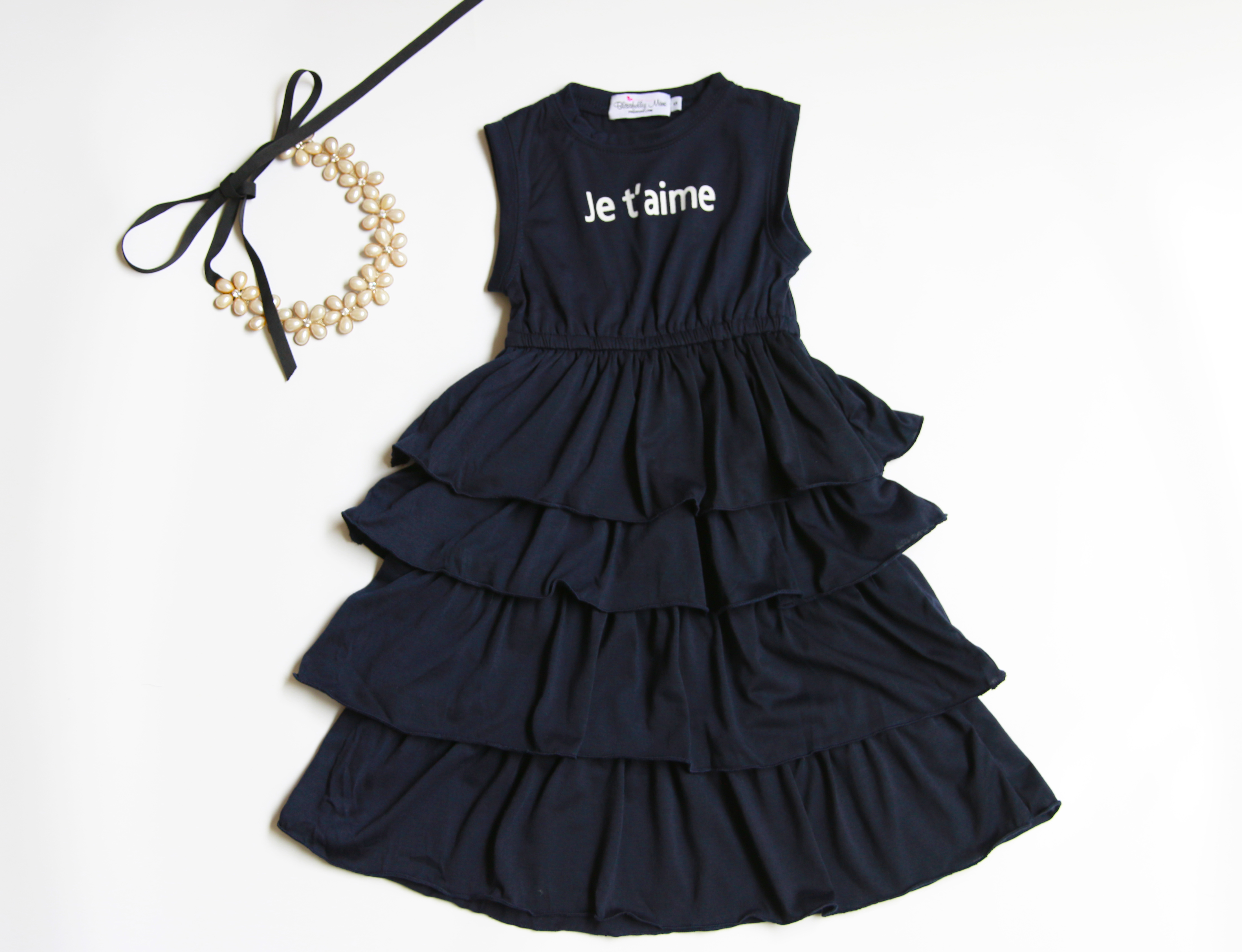 Always Be an Octopus Baby Skirts Stylish Kids T Shirt Dress Soft Flounces Outfits